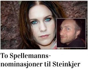 To spellemannsnominasjoner_steinkjeridag
